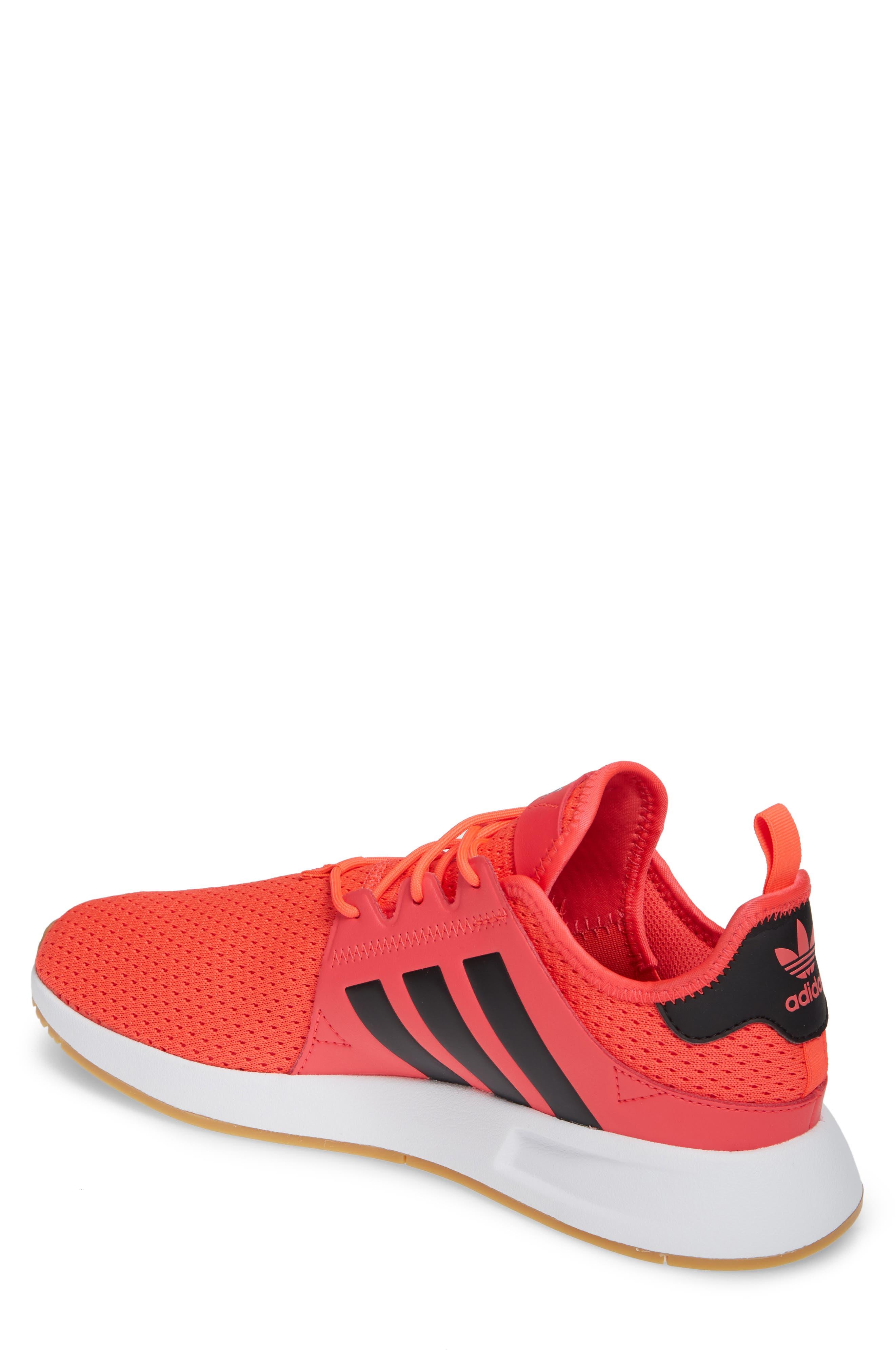 ,                             X_PLR Sneaker,                             Alternate thumbnail 2, color,                             SHOCK RED/ CORE BLACK/ WHITE