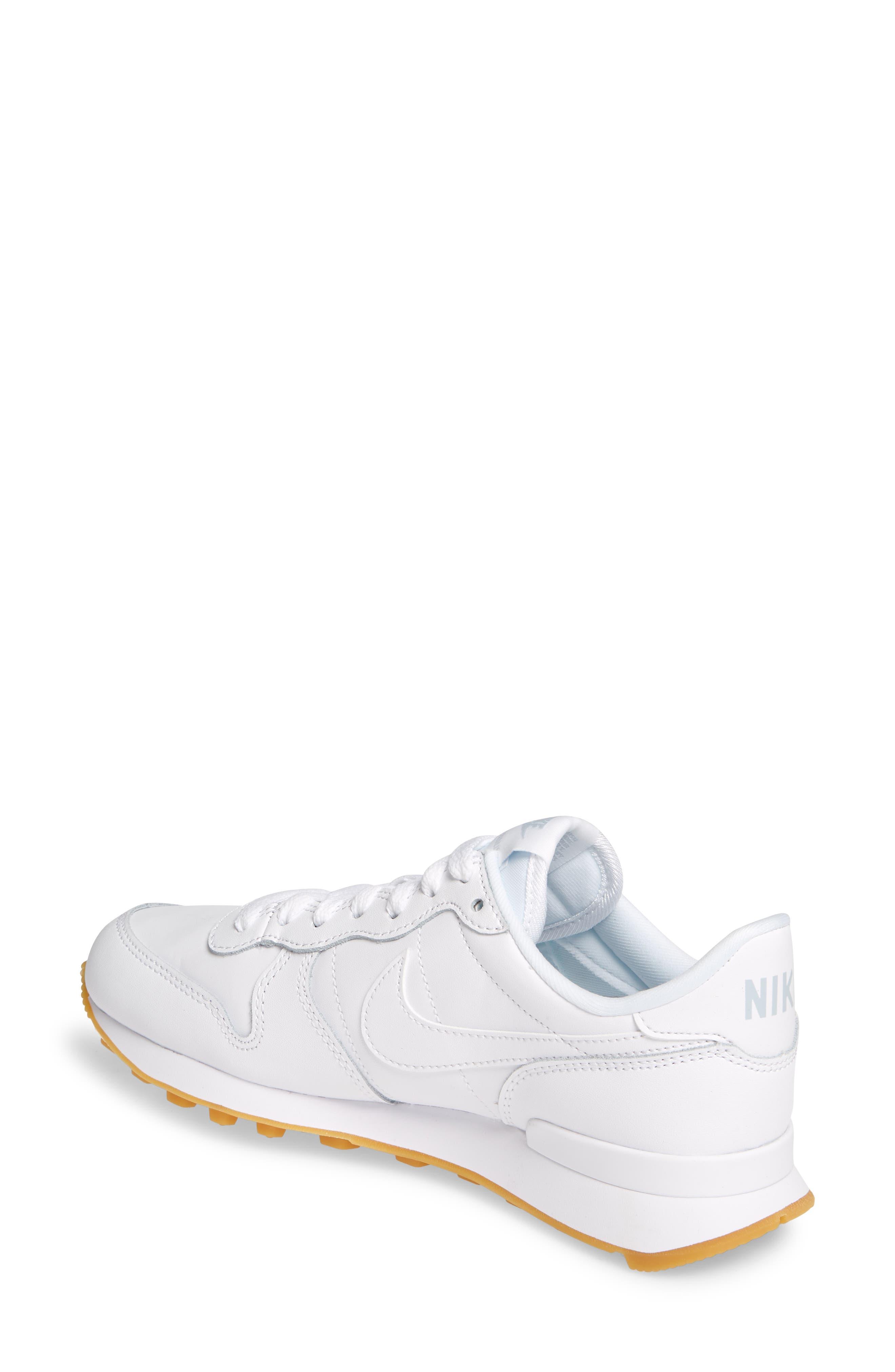 ,                             'Internationalist' Sneaker,                             Alternate thumbnail 2, color,                             WHITE/ WHITE/ GUM LIGHT BROWN