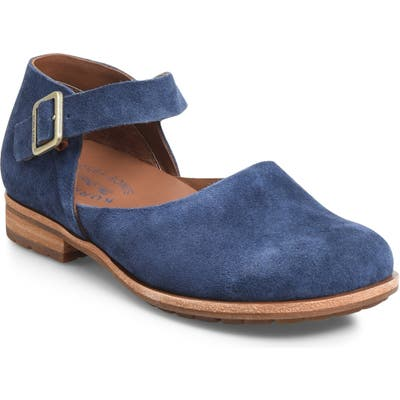 Kork-Ease Bellota Mary Jane Flat, Blue