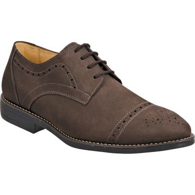 Sandro Moscoloni Avery Cap Toe Derby, Brown