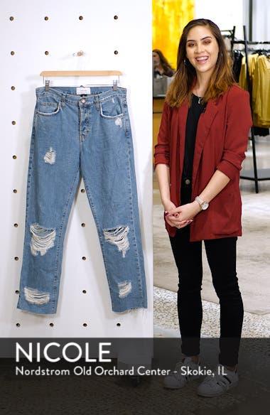 Ripped Original Straight Leg Jeans, sales video thumbnail