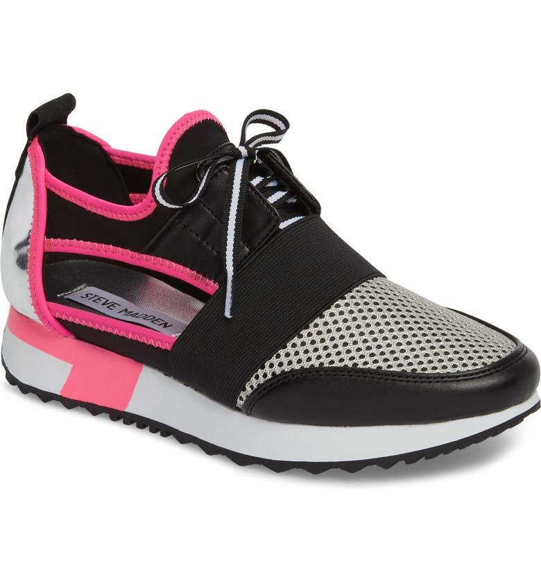 STEVE MADDEN Arctic Sneaker, Main, color, 001
