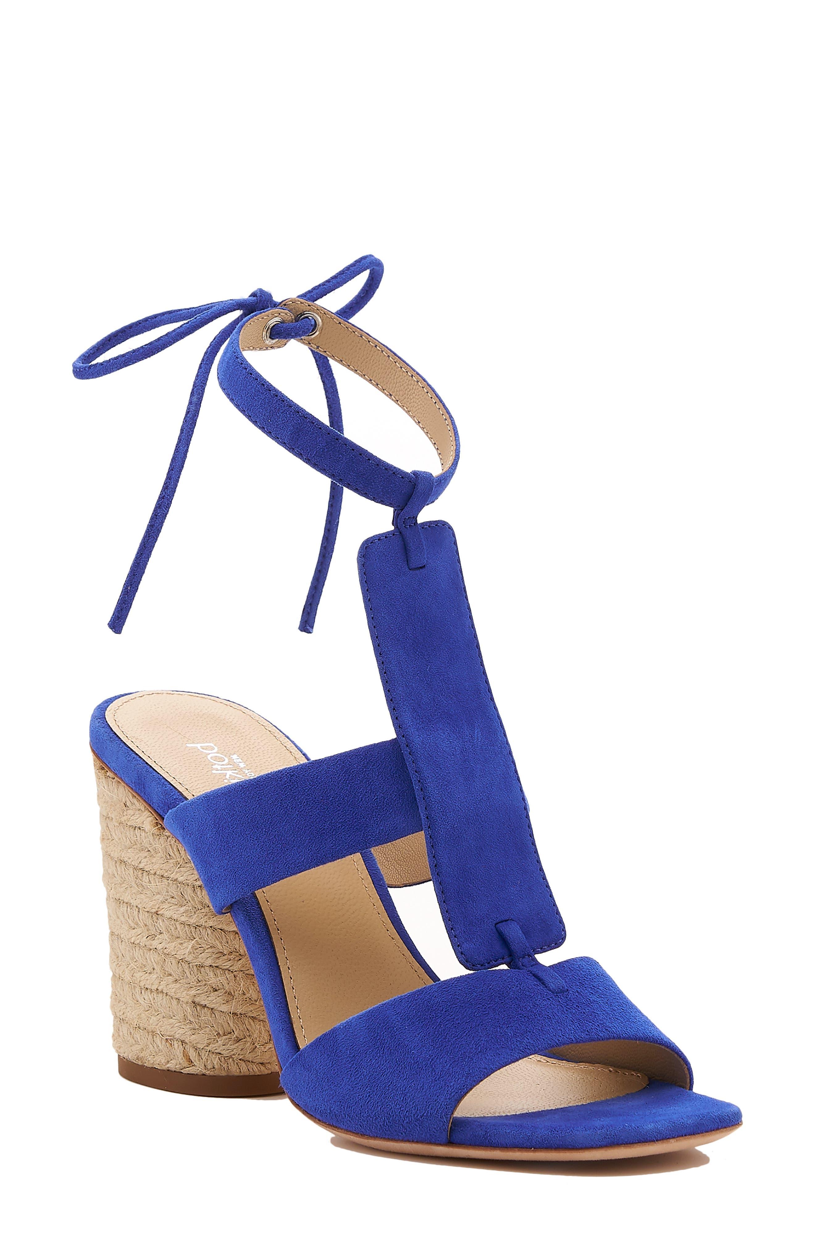 Botkier Alexia Sandal- Blue