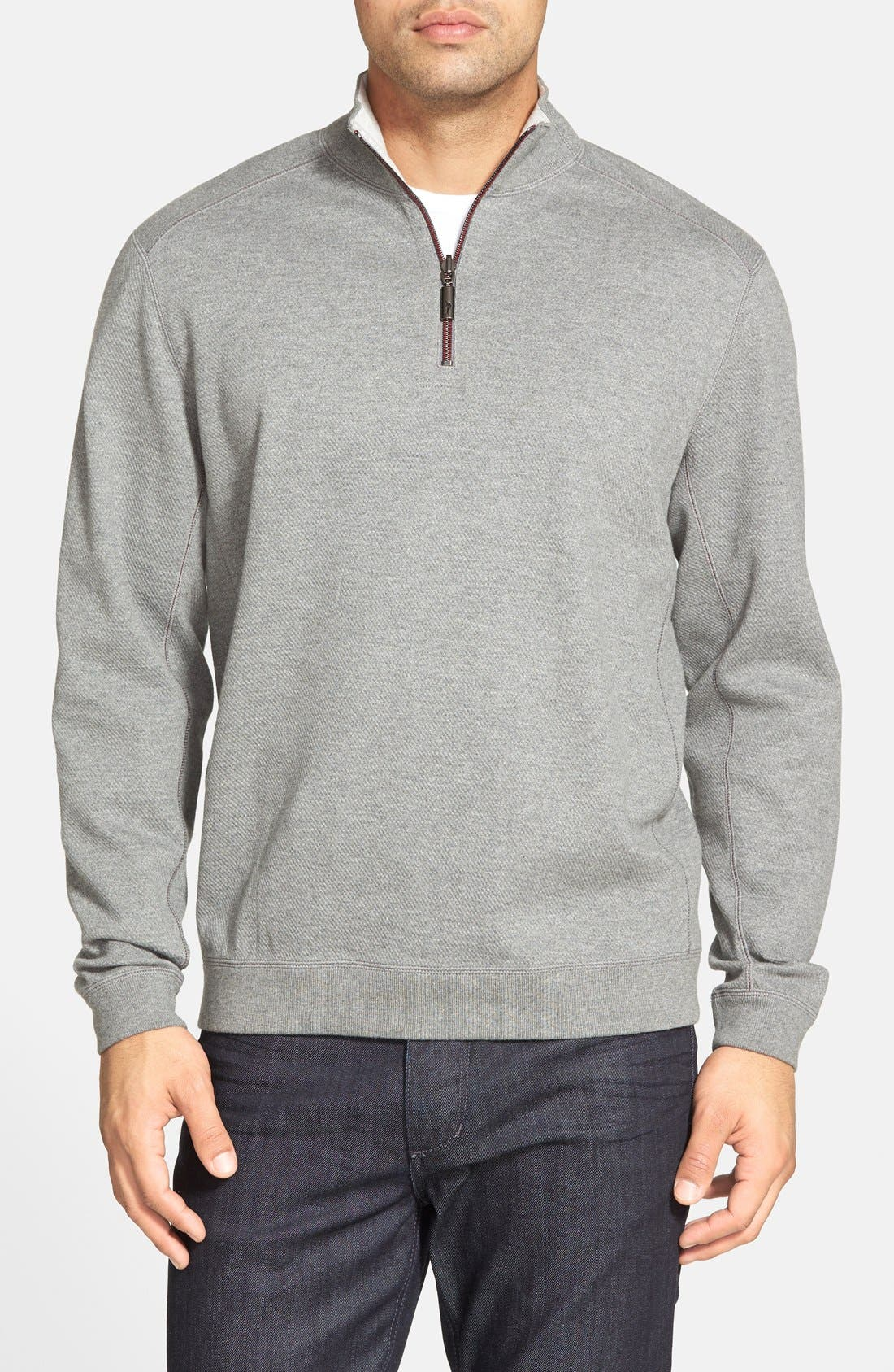 ,                             'Flip Side' Reversible Quarter Zip Pullover,                             Main thumbnail 17, color,                             050