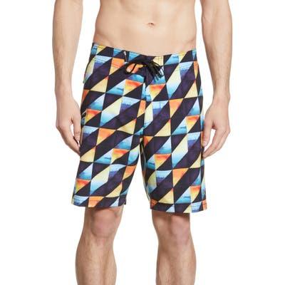 Tommy Bahama North Shore Dusk To Dawn Board Shorts, Black