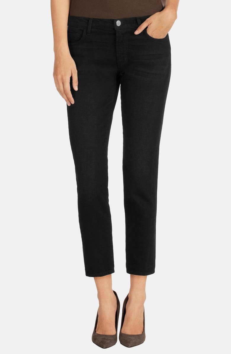 J BRAND 'Ellis' Crop Skinny Jeans, Main, color, 001