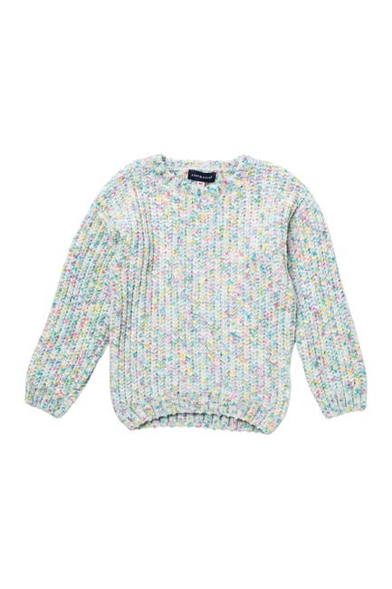 Image of Andy & Evan Speckled Chenille Sweater