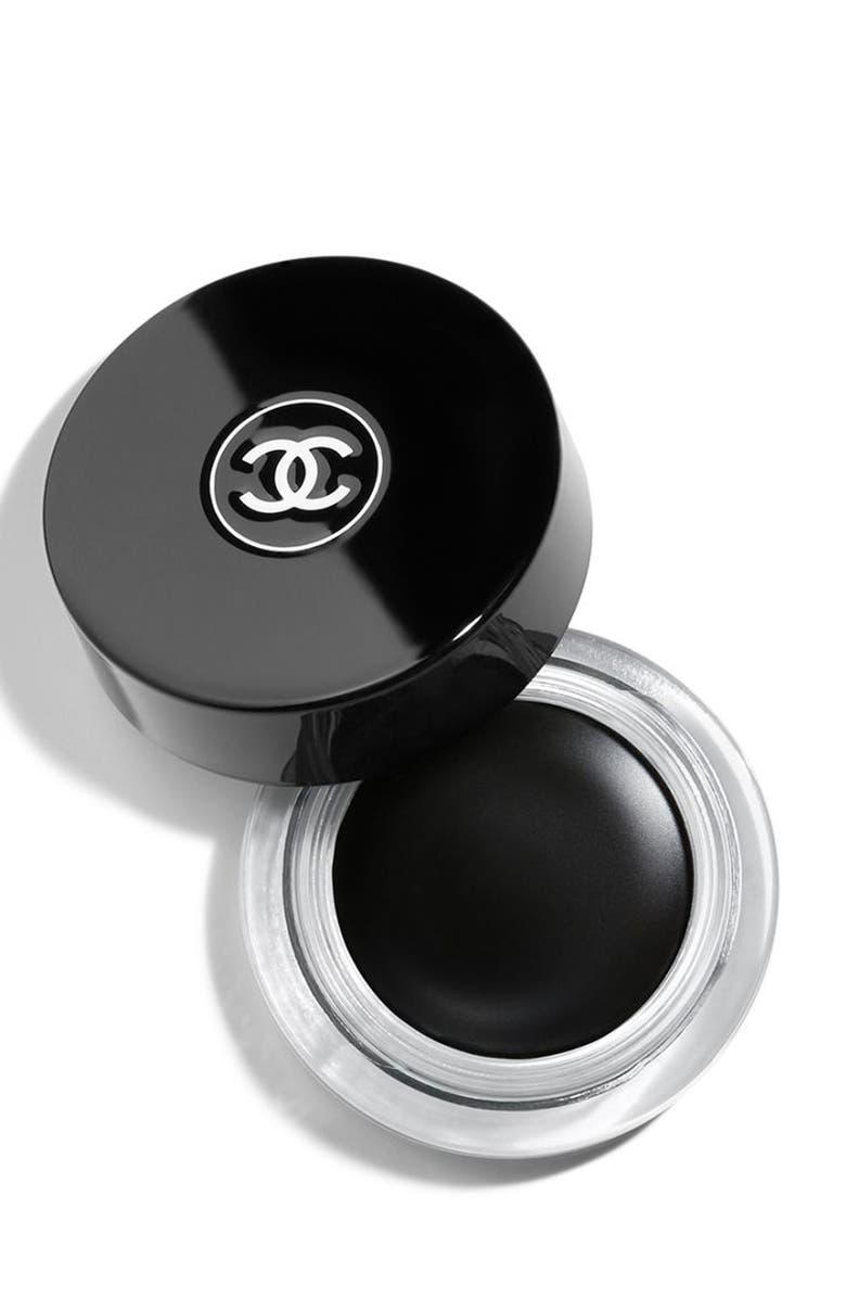 CHANEL CALLIGRAPHIE DE CHANEL <br />Longwear Intense Cream Eyeliner, Main, color, 001