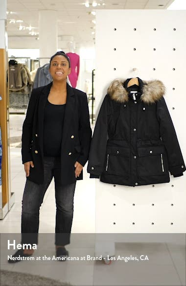 Tilly Hooded Parka with Faux Fur Trim, sales video thumbnail