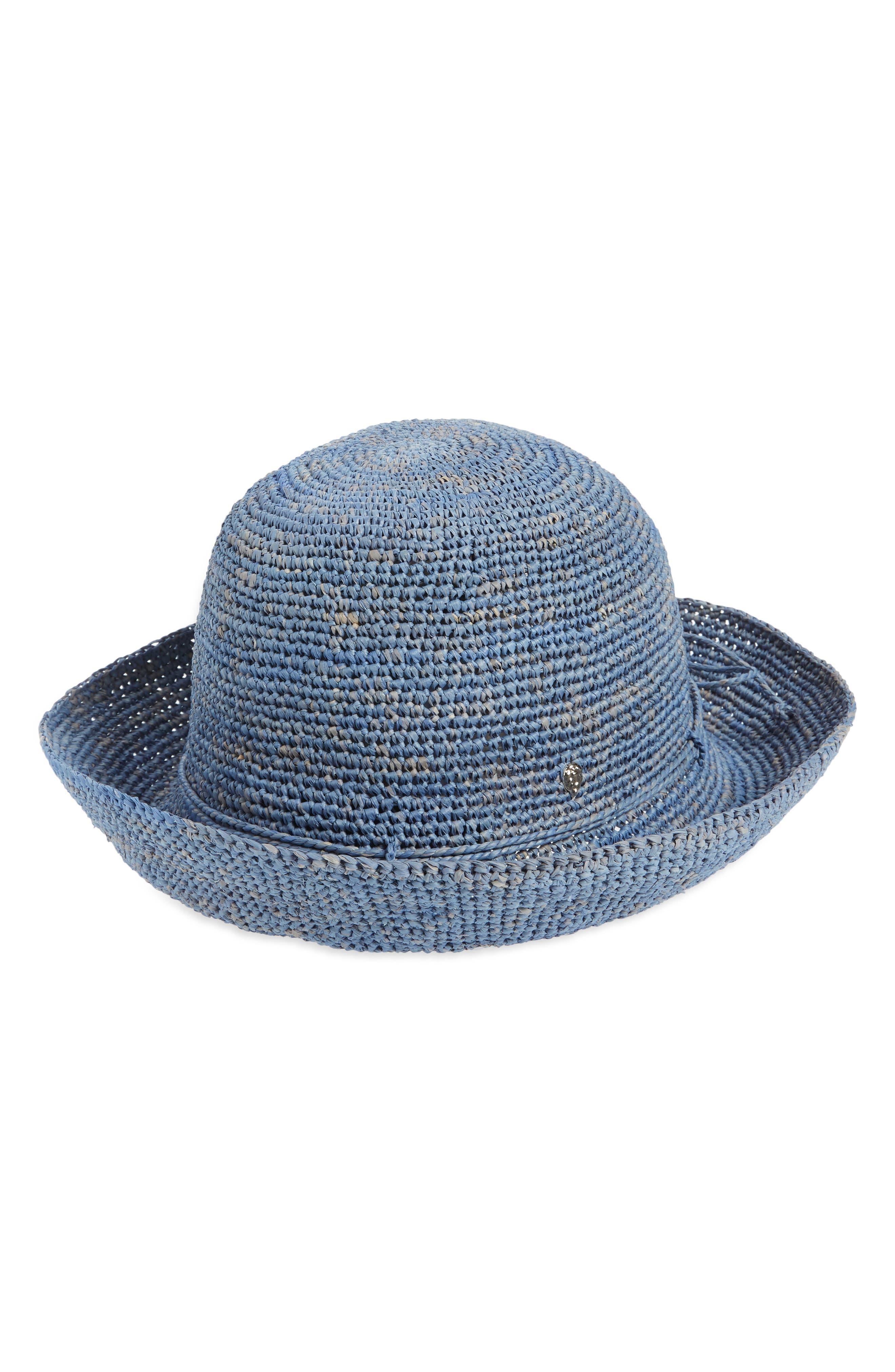 Packable Raffia Hat