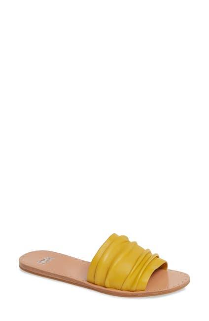 Image of PAIGE Emilia Leather Slide Sandal