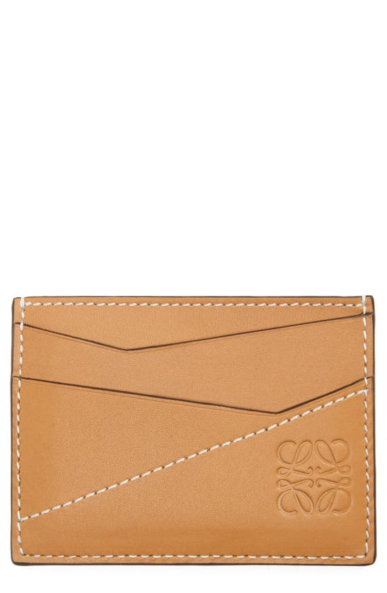 LOEWE PUZZLE LEATHER CARD CASE
