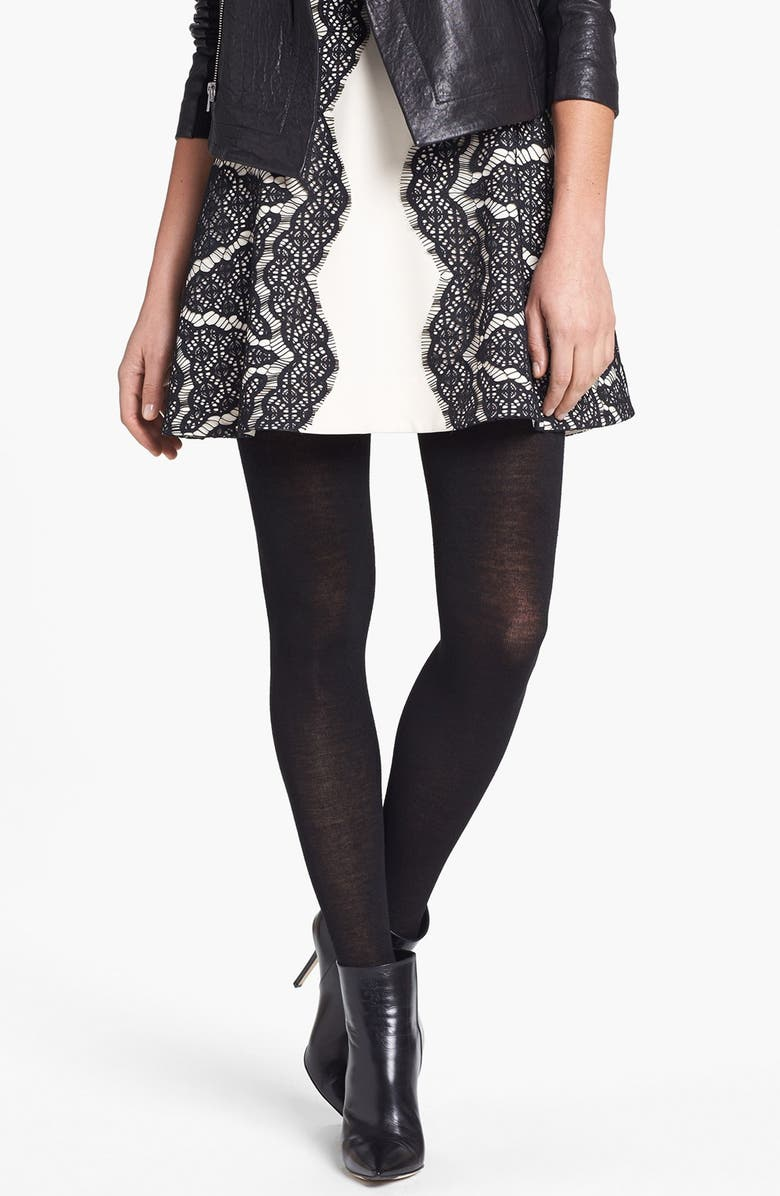 NORDSTROM Halogen<sup>®</sup> Sweater Tights, Main, color, 001