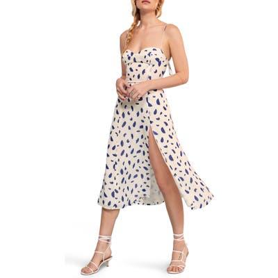 Reformation Juliette Sleeveless Midi Dress, White