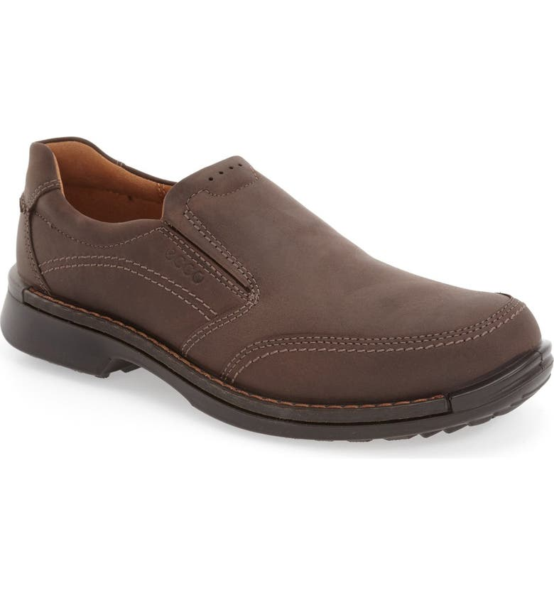 ECCO 'Fusion II' Slip-On, Main, color, COFFEE LEATHER