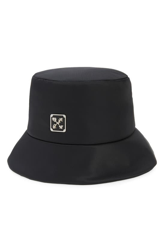 Off-White LEAF ARROWS PLAQUE BUCKET HAT