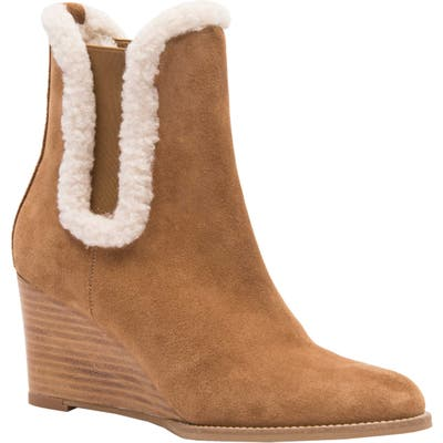 Andre Assous Sasha Wedge Bootie, Brown