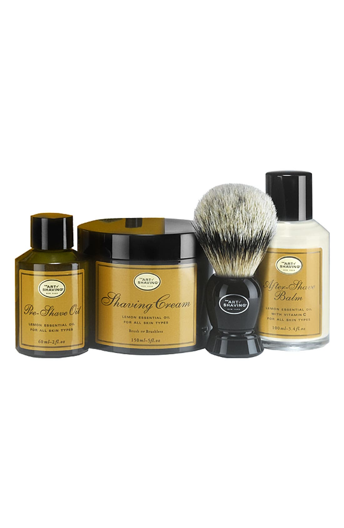 ,                             <sup>®</sup> The 4 Elements of the Perfect Shave<sup>®</sup> Kit,                             Main thumbnail 10, color,                             000