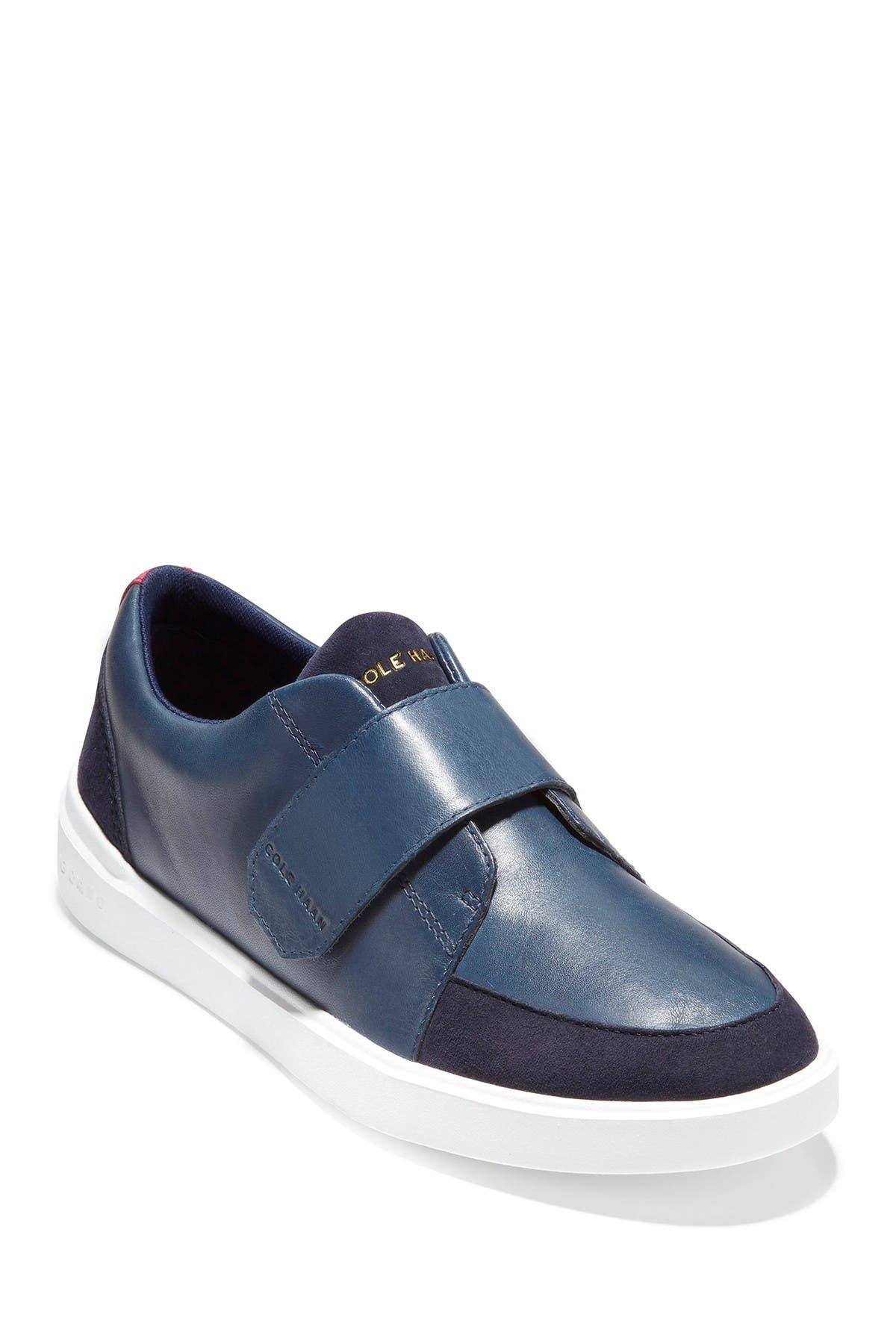 Image of Cole Haan Grand Crosscourt Monk Strap City Sneaker