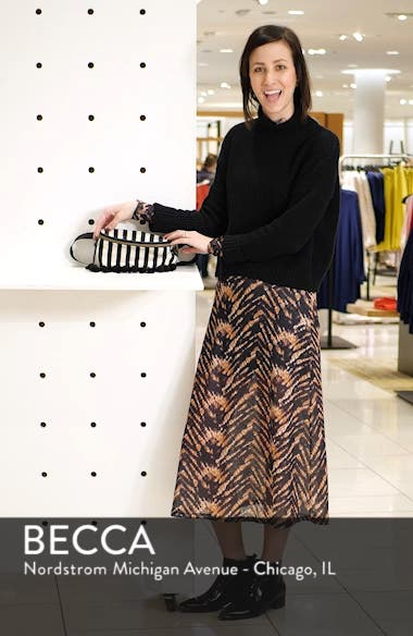 Stripe Tassel Belt Bag, sales video thumbnail