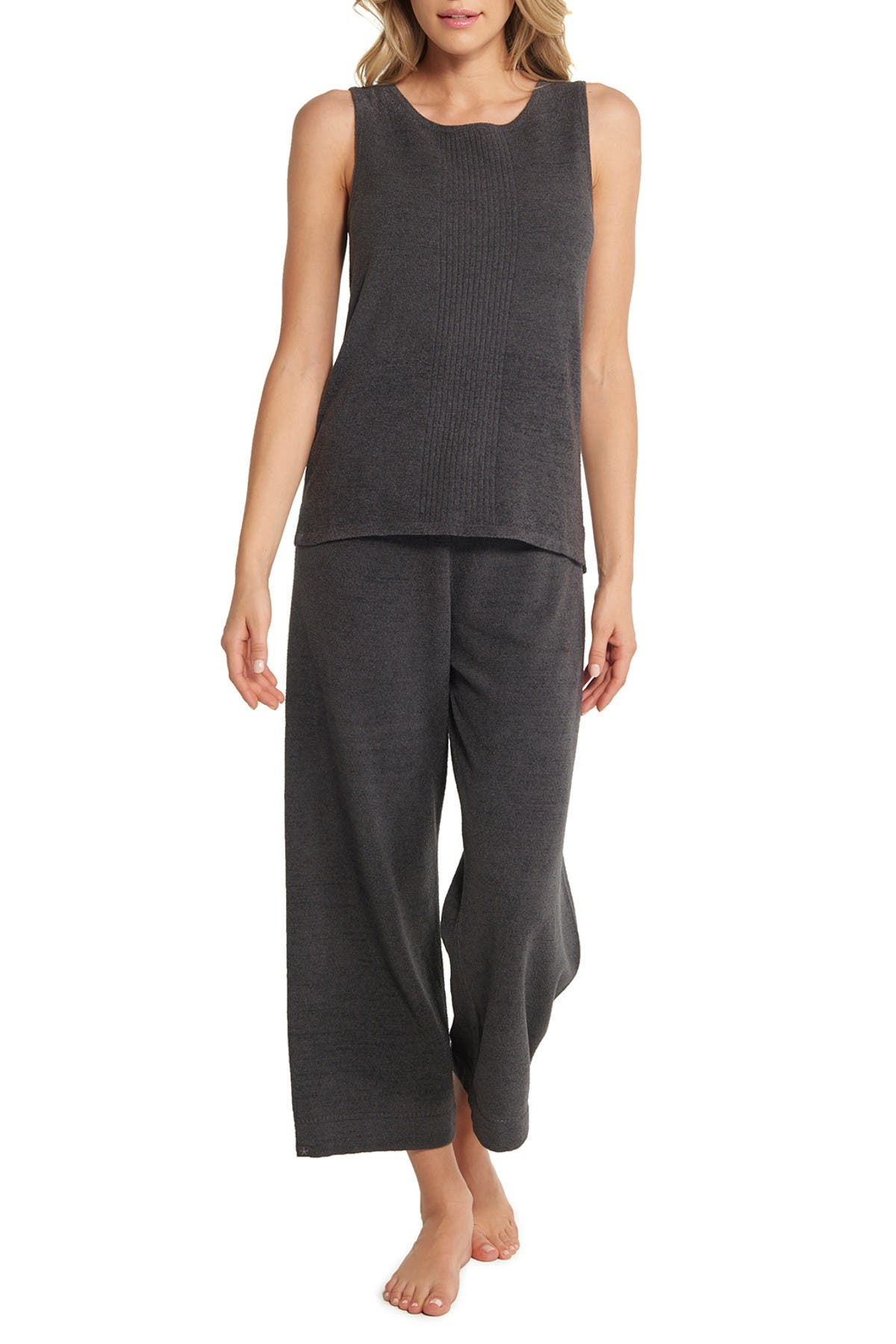 Image of Barefoot Dreams CozyChic Ultra Lite Sleeveless Boatneck Top