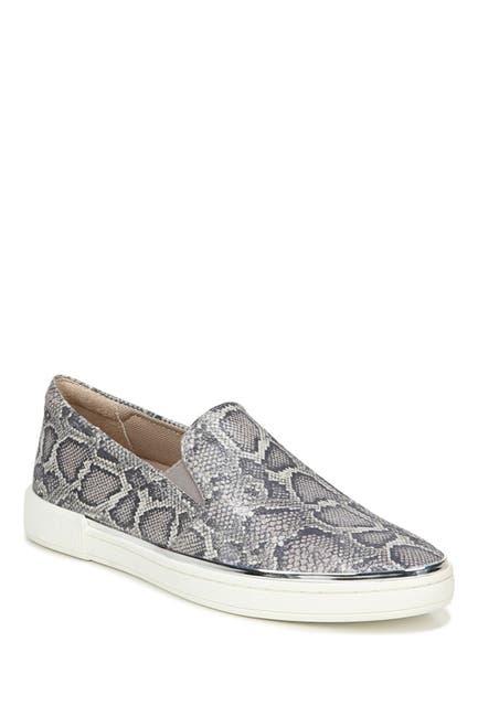 Image of Naturalizer Zola Leather Snake Embossed Slip-On Sneaker