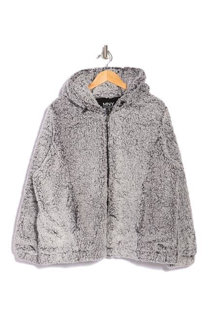 Image of MARC NEW YORK PERFORMANCE Zip Front Faux Shearling Jacket
