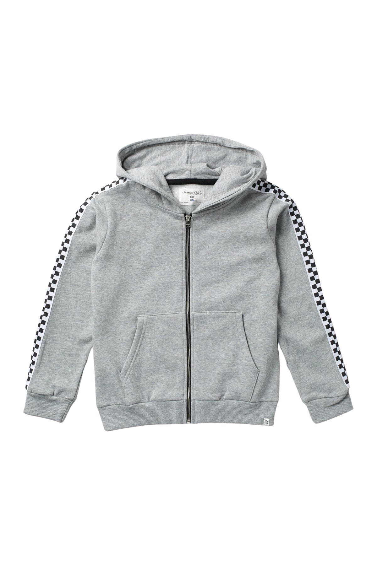 Sovereign Code King Check Hooded Jacket