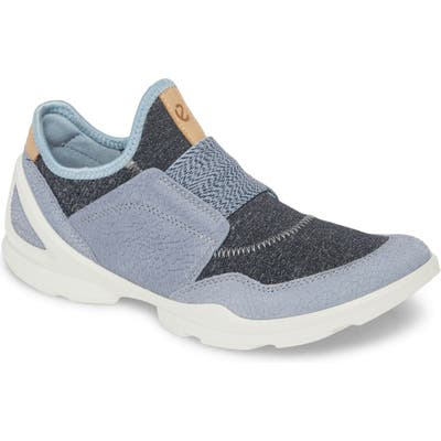 Ecco Biom Street Slip-On Sneaker, Blue