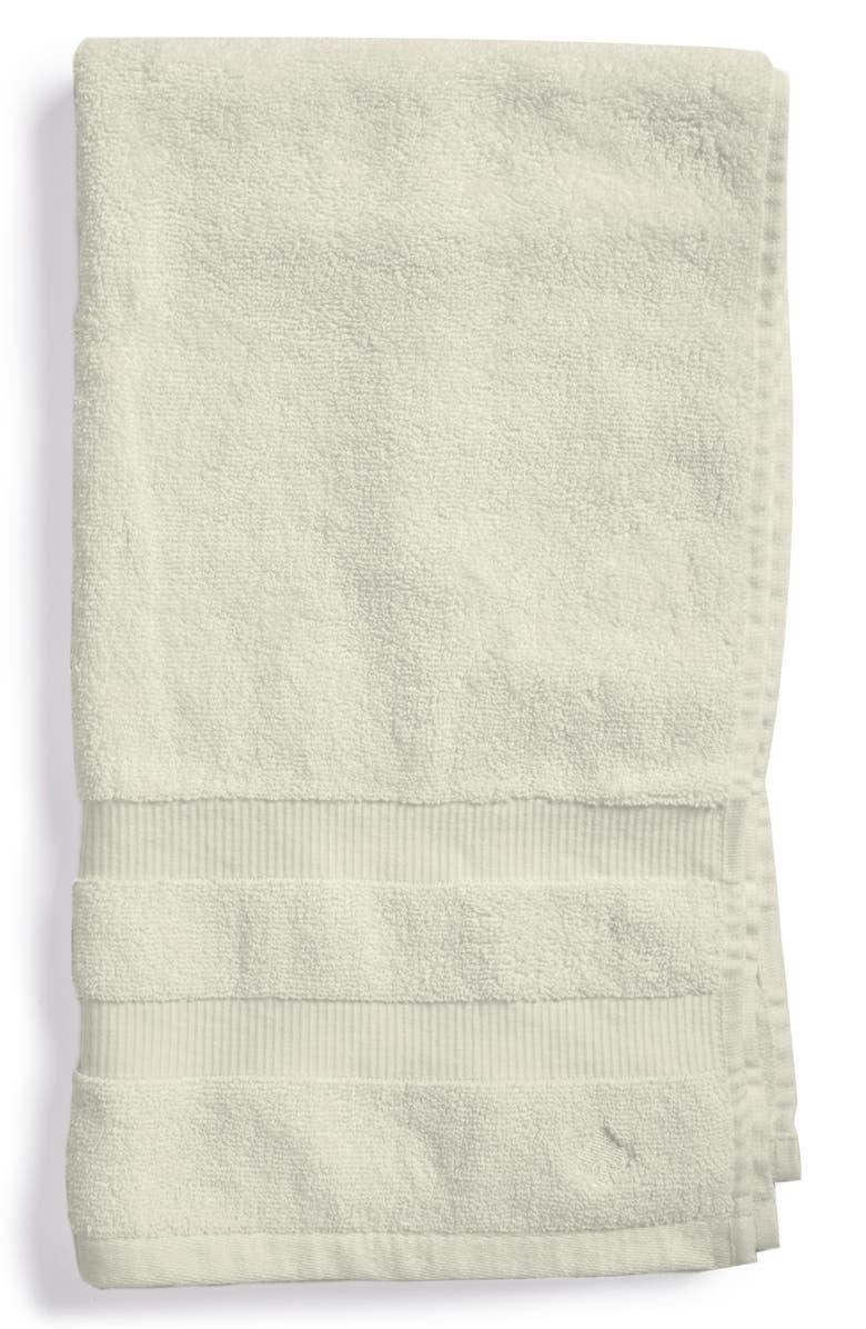 KATE SPADE NEW YORK 'chattam' stripe hand towel, Main, color, 040