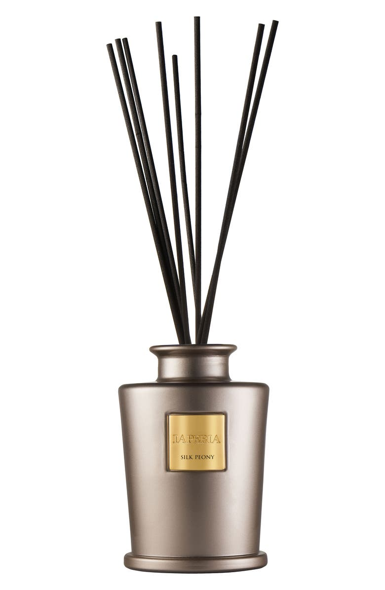 LA PERLA HOME Reed Diffuser, Main, color, SILK PEONY
