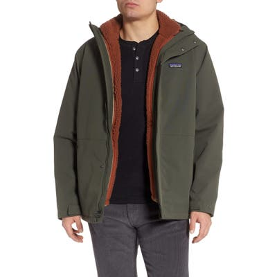Patagonia Lone Mountain Thermolite(TM) 3-In-1 Jacket, Green