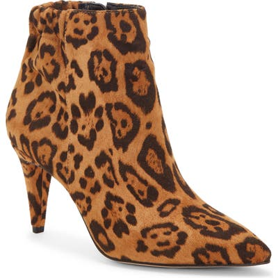 Enzo Angiolini Philoni Pointed Toe Bootie, Brown