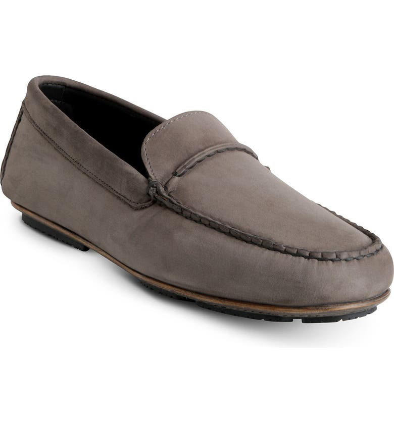 ALLEN EDMONDS Super Sport Driving Shoe, Main, color, GREY NUBUCK