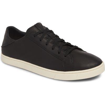 Olukai Kahu Pahana Sneaker- Black
