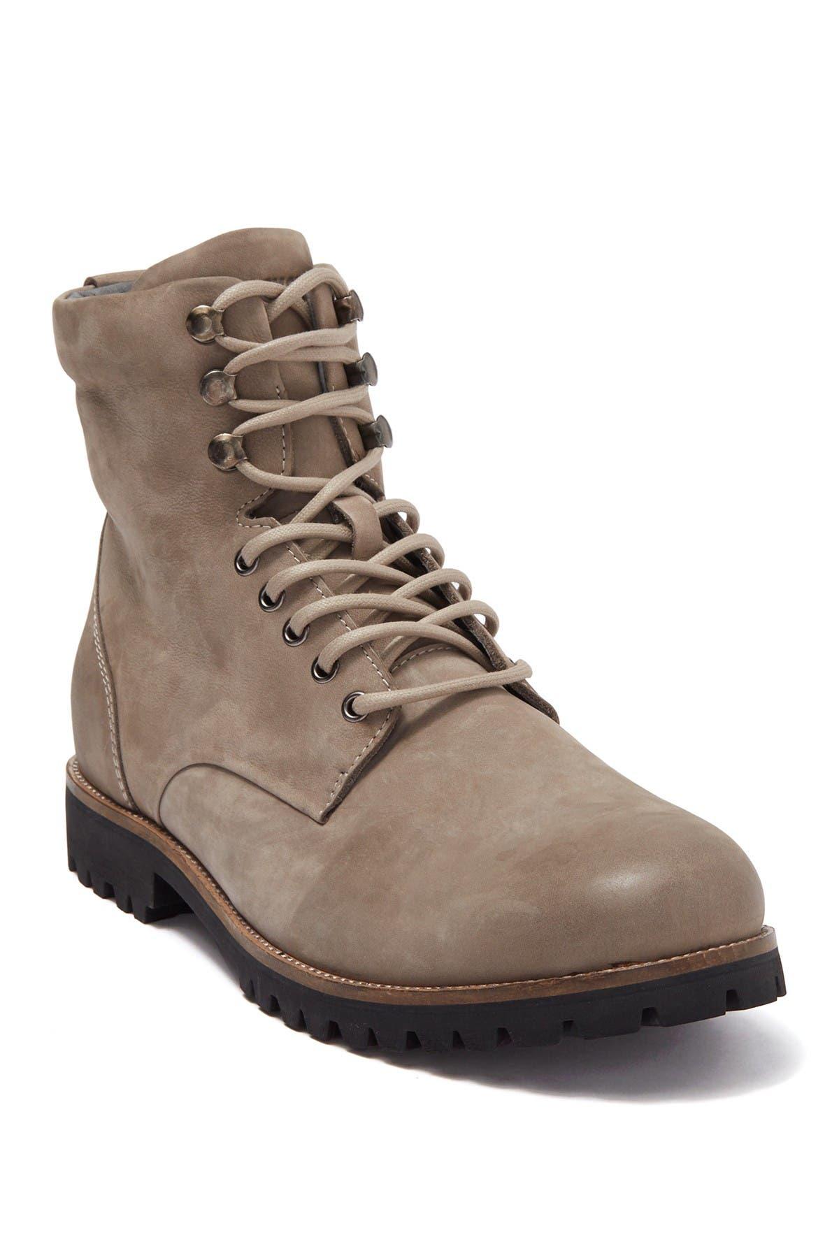 Nubuck Leather Hiker Combat Boot