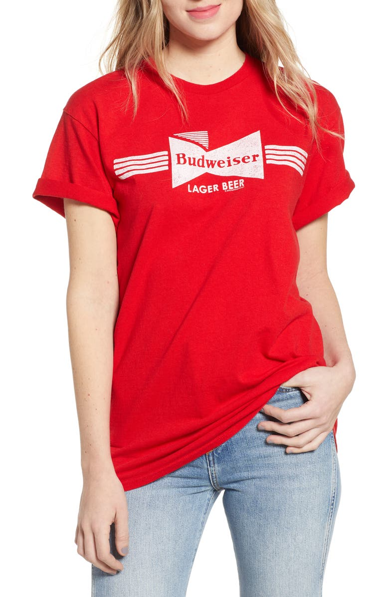 Budweiser Lager Beer Tee by Junk Food