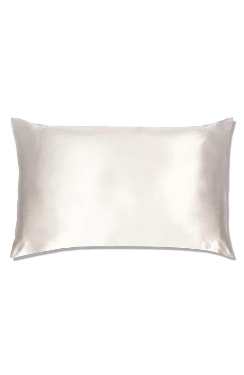 SLIP Pure Silk Pillowcase, Main, color, WHITE