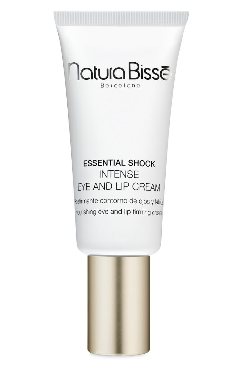 NATURA BISSÉ Essential Shock Intense Eye and Lip Cream, Main, color, NO COLOR