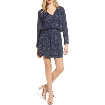 Rails Jasmine Long Sleeve Dress, Blue