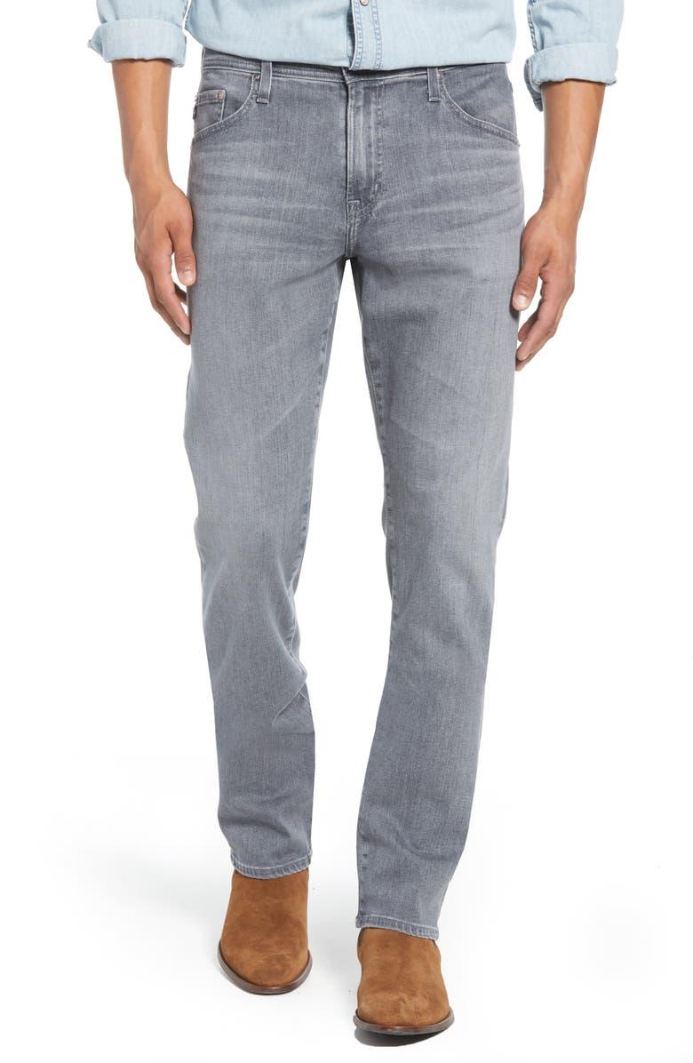 AG Everett Slim Straight Leg Jeans, Main, color, COURIER