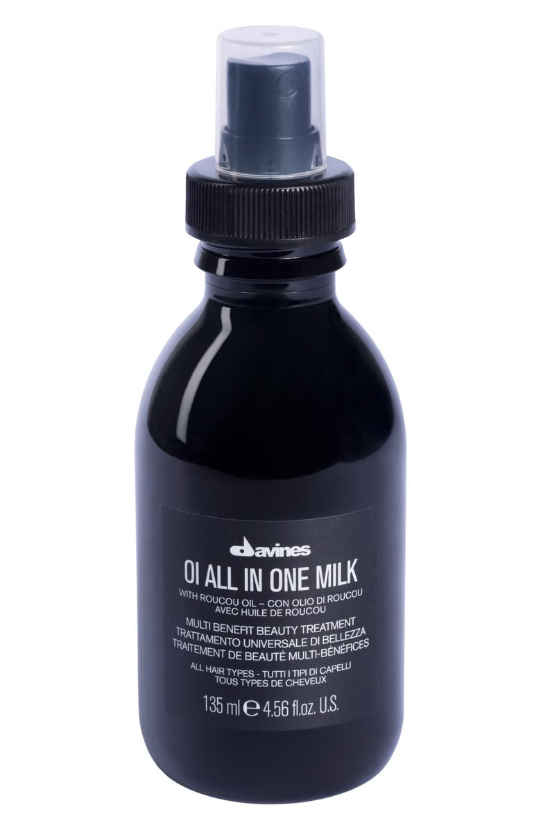 DAVINES OI All In One Milk, Main, color, NO COLOR