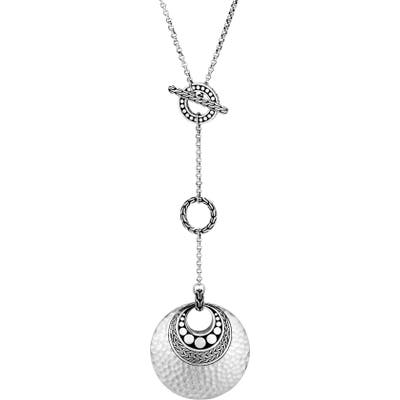 John Hardy Dot Hammered Y-Necklace