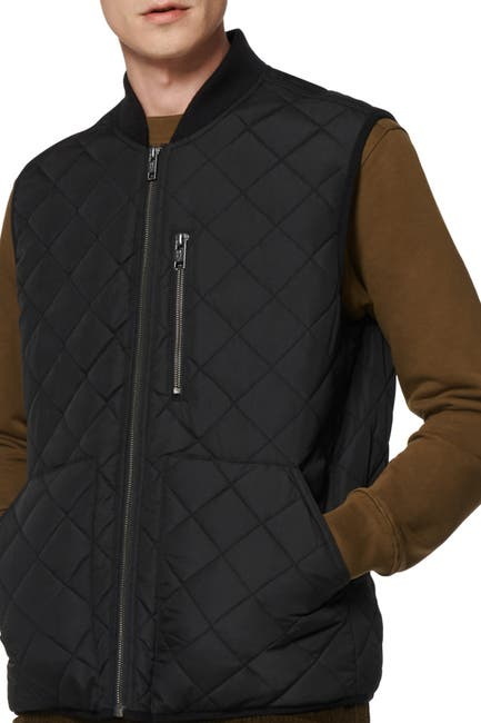 Image of Andrew Marc Sirius Quilted Vest