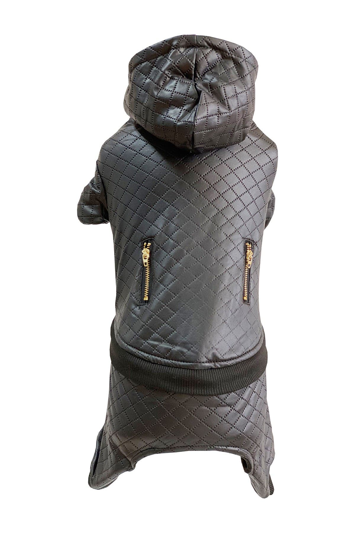 Image of Dogs of Glamour Medium Black Classic Bark Jumpsuit