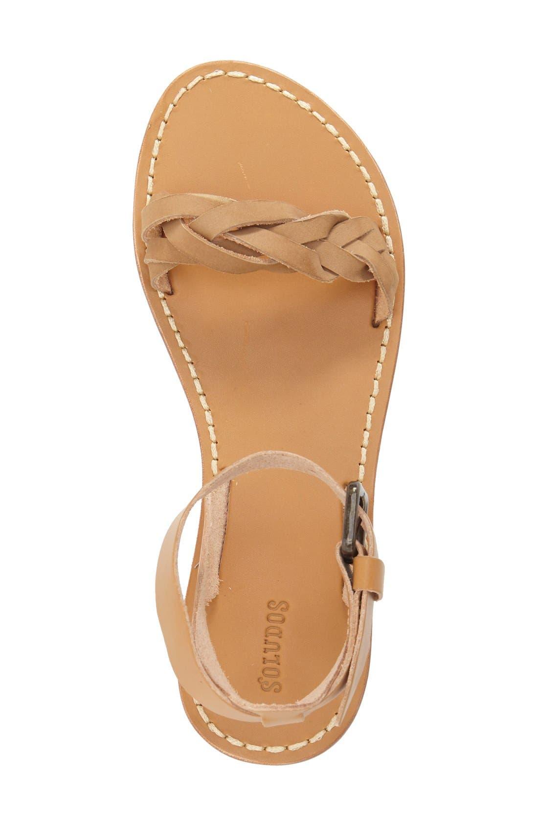 ,                             Ankle Strap Sandal,                             Alternate thumbnail 4, color,                             282
