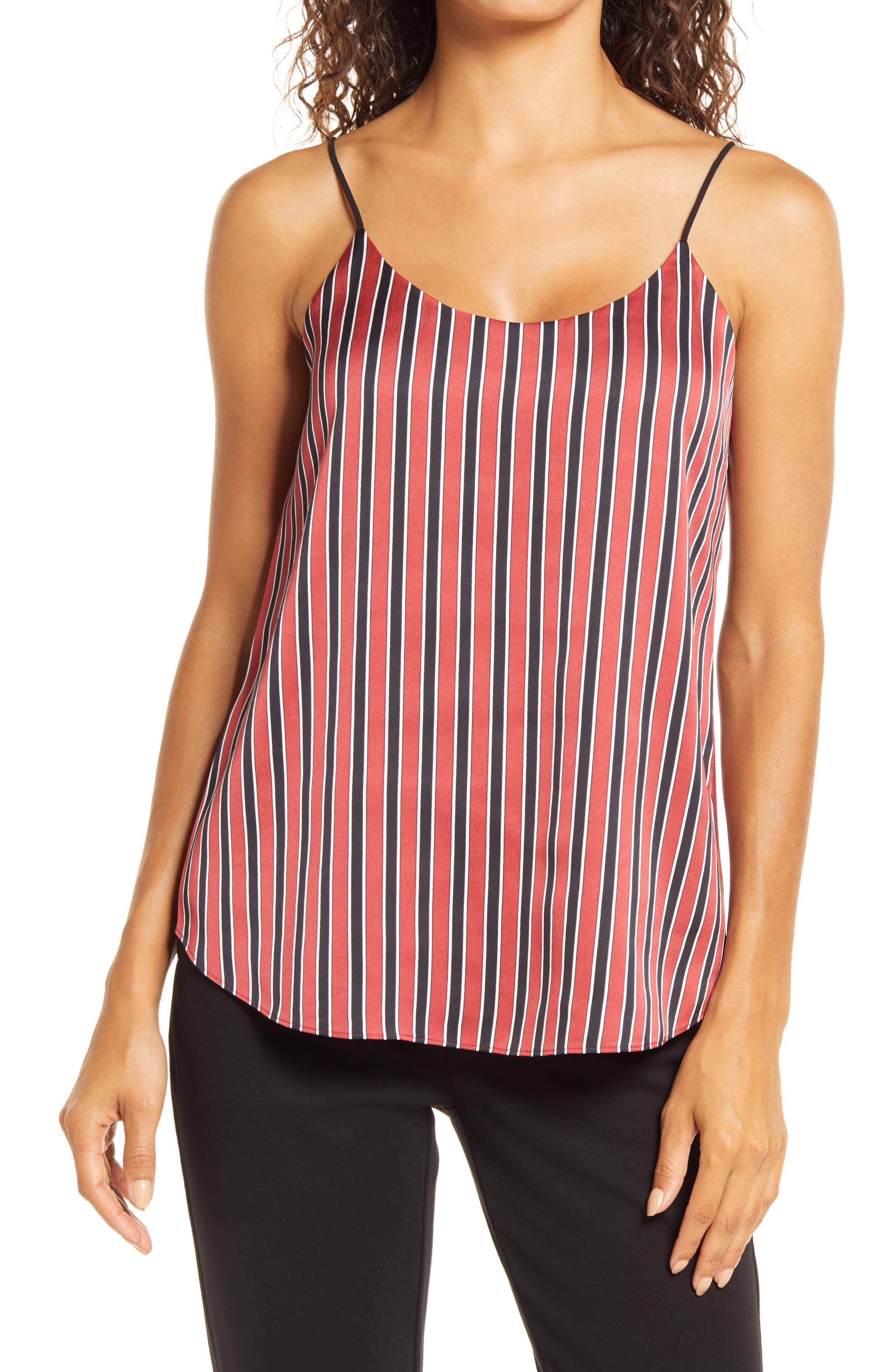 Image of Anne Klein Double Layer Strap Tank