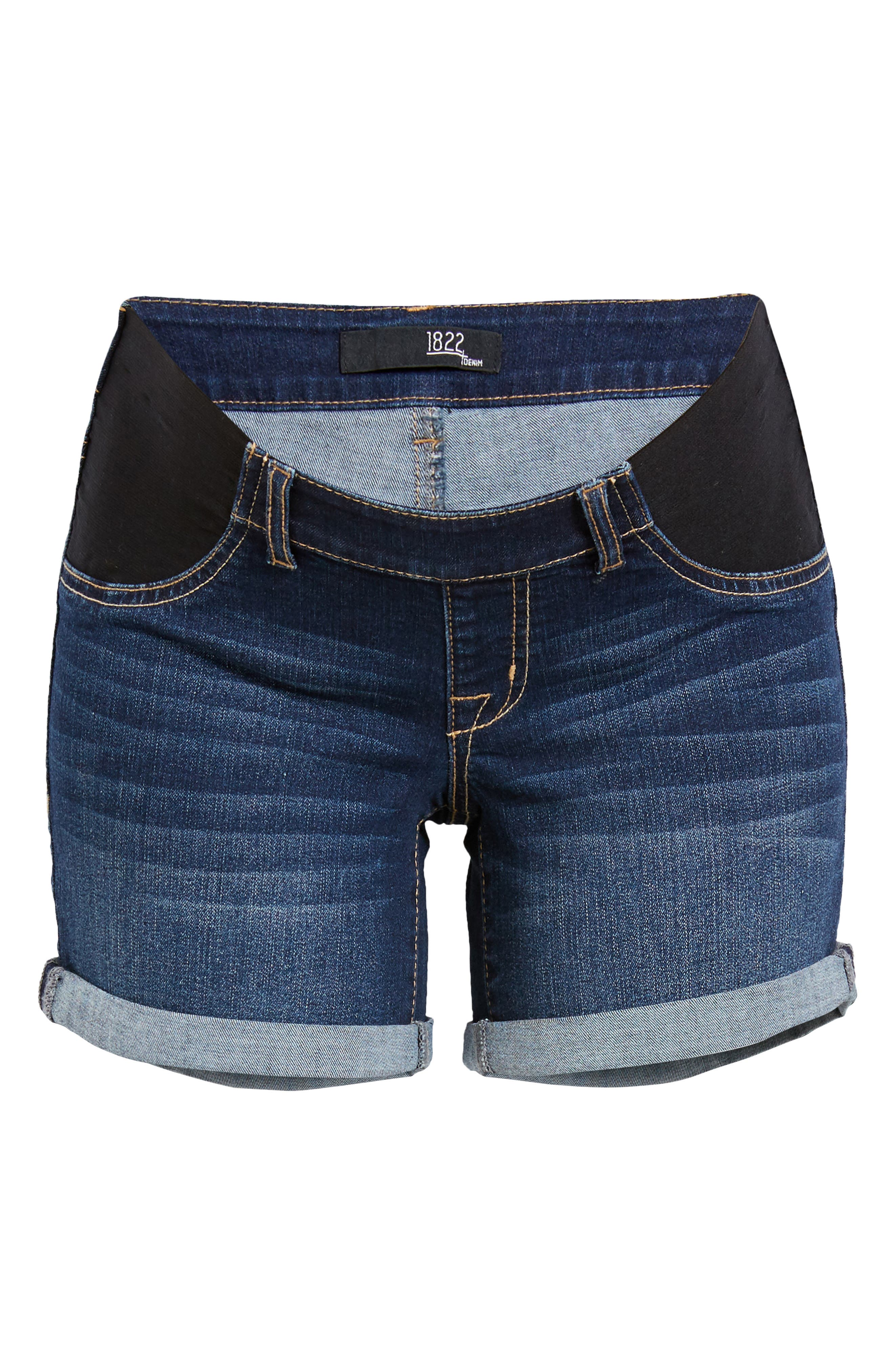 Women's 1822 Denim Re: denim Maternity Shorts