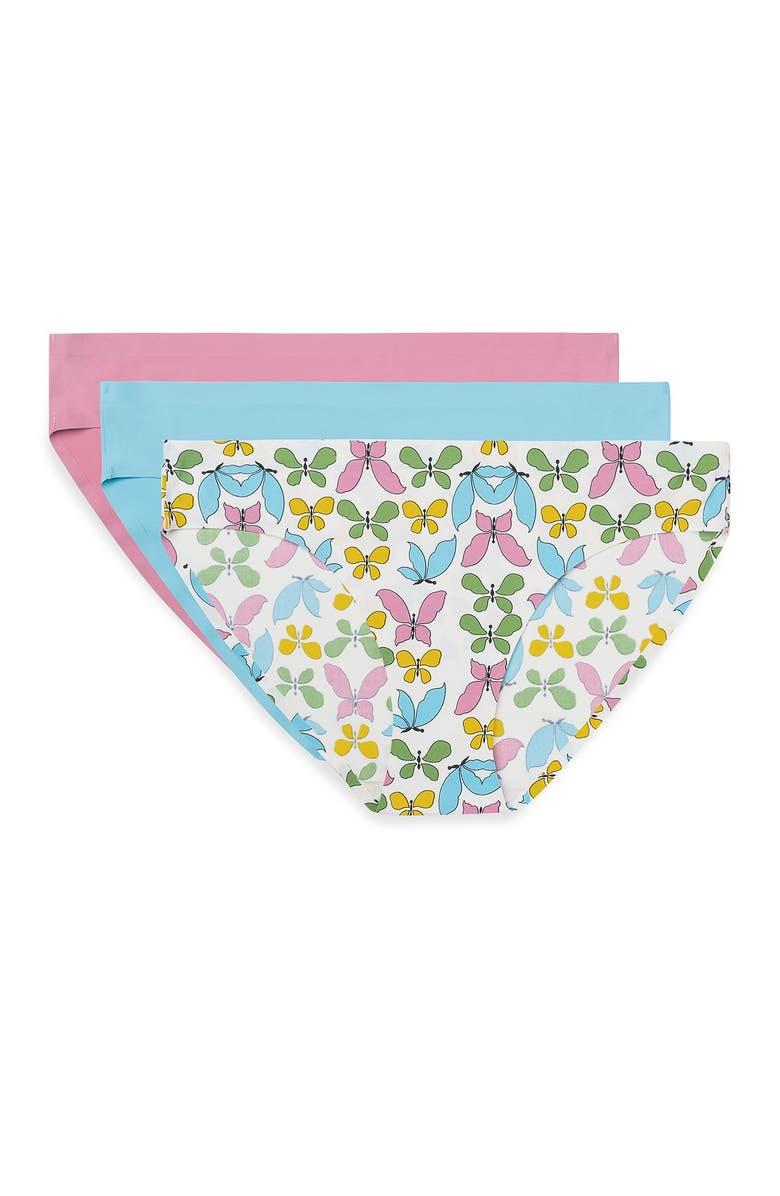 3-Pack AQS Seamless Bikini Cut Panties