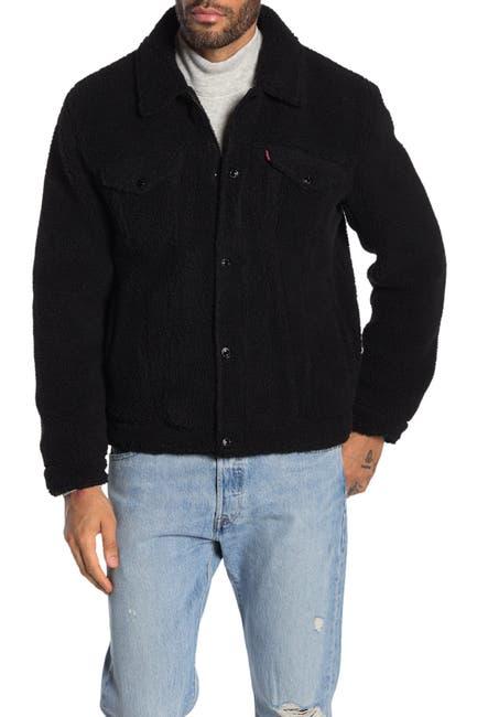 Image of Levi's Faux Shearling Trucker Jacket